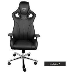 SELSEY Fotel gamingowy E-Blue Cobra czarny