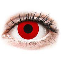 Soczewki kontaktowe, Soczewki kolorowe czerwone RED DEVIL Crazy Lens 2 szt.