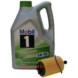 Filtr + olej Mobil 1 ESP Formula 5W30 Chrysler Sebring 2,0TD