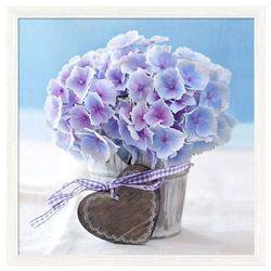 Obraz 30 x 30 cm Kwiat serce