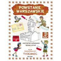 Książki dla dzieci, Powstanie Warszawskie. Klub Poszukiwaczy Tajemnic - Krzysztof Wiśniewski (opr. miękka)