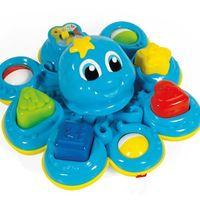 Interaktywne dla niemowląt, Clementoni Sprytna ośmiorniczka