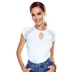 Alina koszulka bawełniana damska Eldar Romantica Active Biała Letnia I (-7%)