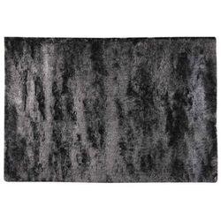 Dywan shaggy SILKY antracytowy - poliester - 140 * 200 cm