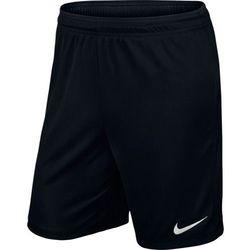 Spodenki piłkarskie Nike Park II Junior czarne
