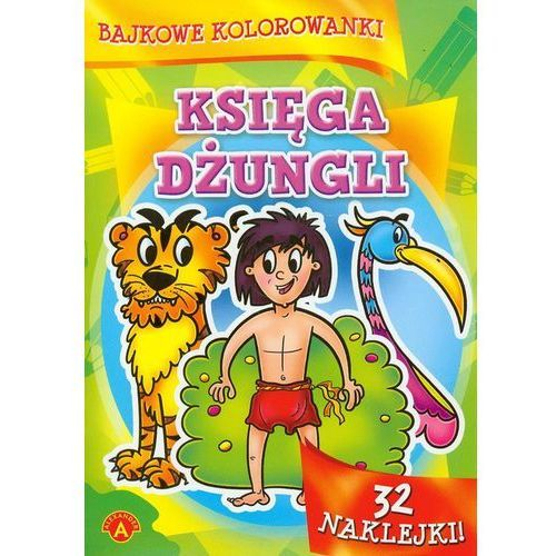 Kolorowanki, Bajkowe kolorowanki Księga dżungli - Alexander