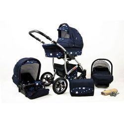 Sun Baby wózek 3w1 Raf-pol Largo navy blue star - BEZPŁATNY ODBIÓR: WROCŁAW!
