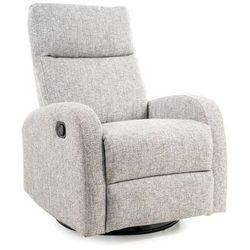 Fotel Olimp rozkładany z funkcją bujania kolor szary