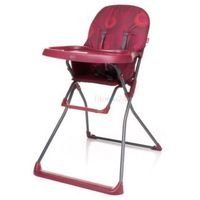 Krzesełka do karmienia, 4Baby Krzesełko do karmienia FLOWER czerwone