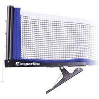 Tenis stołowy, Zestaw do tenisa stołowego inSPORTline Setozio - rakietki, piłeczki, siatka, uchwyty i opakowanie