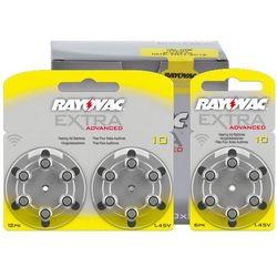 30 x baterie do aparatów słuchowych Rayovac Extra Advanced 10 MF