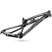 Ramy do rowerów, Rama Dartmoor Roots, z damperem sprężynowym RS Kage RC 222x69, black angel, L dartmoor (-10%)