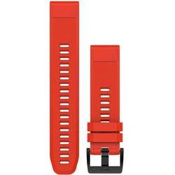 Garmin Pasek silikonowy Quick Fit 26mm Fenix 5X (czerwony)