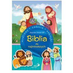 Biblia dla najmłodszych. Modlitwy, zadania, naklejki