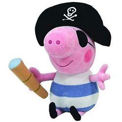TY Beanie Babies Świnka Peppa - George pirat 15 cm