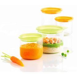 Mastrad - Zestaw 4 pojemników na posiłki dla dziecka