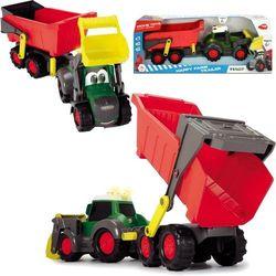 DICKIE Happy Traktor z przyczepką Fendt 65 cm