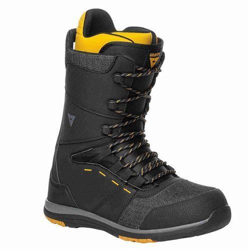 Buty do snowboardu, buty snowboardowe GRAVITY - Manual Black-Yellow (BLACK-YELLOW) rozmiar: 45.5