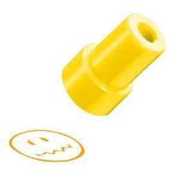 Stempel Smiley.World, żółty, zakłopotana, HERLITZ - żółty