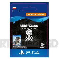 Tom Clancy's Ghost Recon: Breakpoint 600 Ghost Coins [kod aktywacyjny] PS4