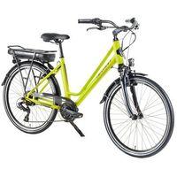 """Rowery elektryczne, Miejski rower elektryczny Devron 26122 - model 2018, Jasny niebieski, 18"""""""