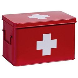 Metalowa apteczka, pudełko medyczne, 32x20x20 cm, ZELLER
