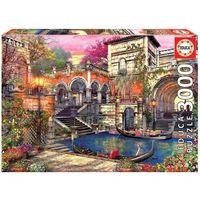 Puzzle, Puzzle Romantyczna Wenecja 3000 elementów Educa