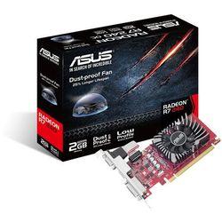 Karta graficzna Asus Radeon R7 240 2GB DDR3 (128 Bit), DVI-D, HDMI, D-Sub, BOX (R7240-2GD5-L)