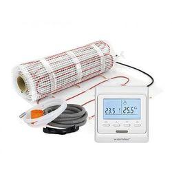 Mata grzejna + regulator temperatury + akcesoria: Kompletny zestaw Warmtec DS2-50/T510 5,0m2 (170W/m2)