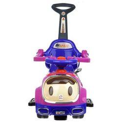 Jeździk dla dzieci KINDERSAFE 7631B - Różowy   Biały