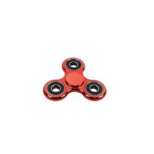 Pozostałe zabawki, Spinner metalizowany czerwony