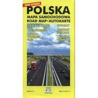 Mapy i atlasy turystyczne, Polska mapa samochodowa - DODATKOWO 10% RABATU i WYSYŁKA 24H! (opr. miękka)