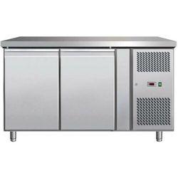 Stół chłodniczy 2-drzwiowy | -2°C/+8°C | 280L | 250W| 1360x700x(H)850mm