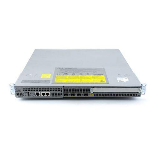 Routery i modemy ADSL, ASR1001 Router Cisco ASR1001 System, 4x 1G SFP, Wydajność 2.5Gbps, 4GB RAM, Wydajność IPSec 1Gbps, RP2