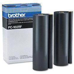 Wyprzedaż Oryginał Folia do faksu Brother PC-102RF do IntelliFAX 1150/1250/1350/1550mc, MFC-1450/1550/1750/1850/1950, 2*750 stron
