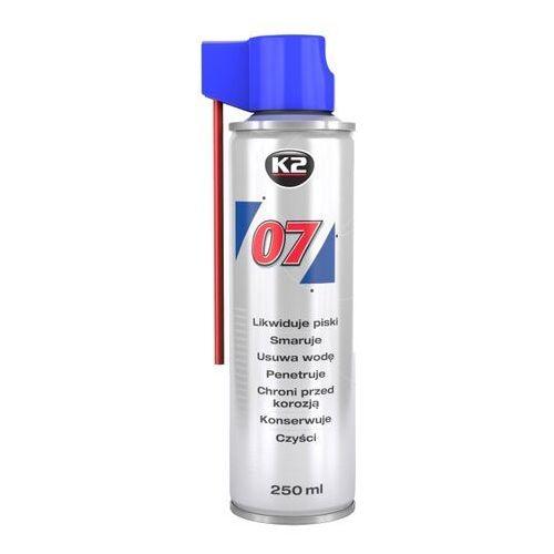 Smary, K2 07 smar odrdzewiacz w sprayu wielozadaniowy penetrant 250ml