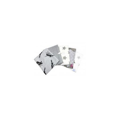 Pieluchy flanelowe, Pieluszki flanelowe drukowane opk - 5szt.