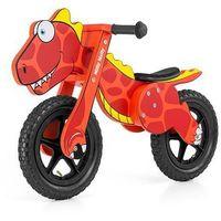 Rowerki biegowe, Rowerek biegowy drewniany dino red
