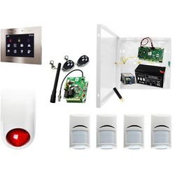 Alarm do domu: Ropam OptimaGSM-PS + 4xBosch+ TPR-1-O + Sygnalizator + 2xpilot