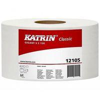 Papier toaletowy, Papier toaletowy Gigant S2 Katrin Classic 130m 2w biały 12 rolek