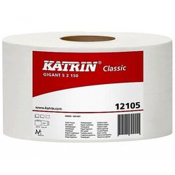 Papier toaletowy Gigant S2 Katrin Classic 130m 2w biały 12 rolek