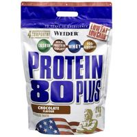 Odżywki białkowe, WEIDER Protein 80 Plus - 500g - Raspberry