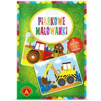Kolorowanki, Malowanka Piaskowa Koparka Traktor 2094