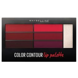 Maybelline - Paletka do stylizacji ust - Color Drama Lip Contour Palette Crimson