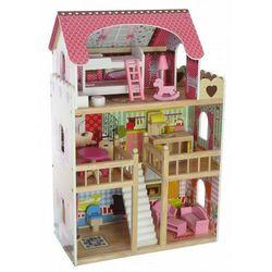 """Drewniany domek dla lalek """"Rezydencja Malinowa"""""""