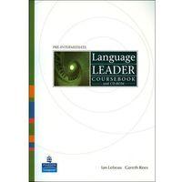 Książki do nauki języka, Language Leader Pre-Intermediate Coursebook (+ CD) (opr. miękka)