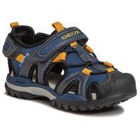 Sandały dziecięce, Sandały GEOX - J Borealis B. A J020RA 014ME C4229 M Navy/Dk Yellow