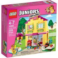 Klocki dla dzieci, Lego JUNIORS 10686 - dom rodzinny - klocki juniors 10686