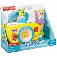 Pozostałe zabawki, Zabawka FISHER PRICE BB Interaktywny magnetofonik Bebo + DARMOWY TRANSPORT!