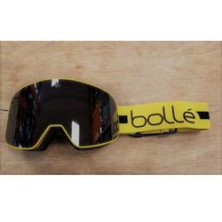 Gogle Bolle NEVADA MATTE YELLOW LINE / BLACK CHROME Kat.S3